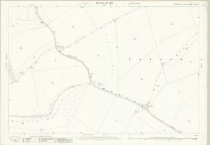 Yorkshire CXLIV.14 (includes: Cottam; Garton; Sledmere) - 25 Inch Map