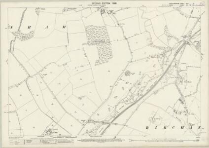 Hertfordshire XXIII.2 (includes: Birchanger; Bishops Stortford; Farnham; Stanstead Mountfitchet) - 25 Inch Map