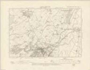 Montgomeryshire XXIII.NE - OS Six-Inch Map