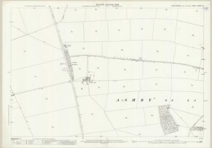 Lincolnshire LXXXVII.13 (includes: Ashby De La Launde and Bloxholm; Temple Bruer with Temple High Grange) - 25 Inch Map