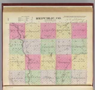 Republic Co., Kansas.