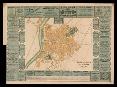 Plano industrial y comercial de Valladolid / es propiedad del autor