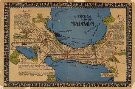 Historical map of Madison
