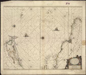 Pascaerte vande Vlaemsche, Soute, en Caribesche Eylanden, als mede Terra Nova, en de custen van Nova Francia, Nova Anglia, Nieu Nederlandt, Venezuela, Nueva Andalusia, Guiana en een gedeelte van Brazil