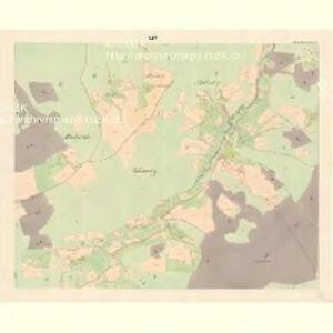 Gross Bistrzitz (Welky Bistrzice) - m3258-1-012 - Kaiserpflichtexemplar der Landkarten des stabilen Katasters