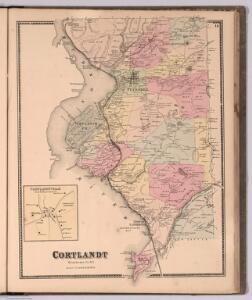 Town of Cortlandt, Westchester County, New York. Courtlandt.