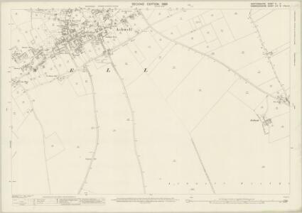 Hertfordshire IV.9 (includes: Ashwell; Guilden Morden; Steeple Morden) - 25 Inch Map