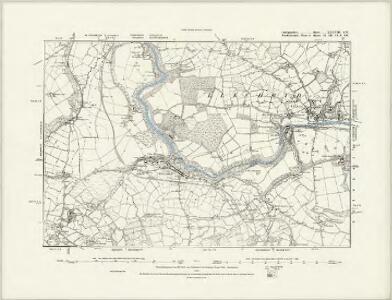 Cardiganshire XXXVII.NE - OS Six-Inch Map