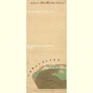 Landschau - m1467-1-008 - Kaiserpflichtexemplar der Landkarten des stabilen Katasters