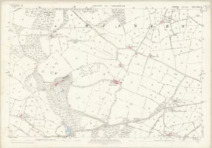 Yorkshire CXXXVI.15 (includes: Clint; Hartwith Cum Winsley) - 25 Inch Map