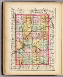 (Map of Kent County, Michigan)