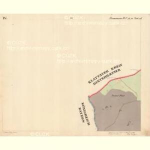 Hammern - c1768-1-004 - Kaiserpflichtexemplar der Landkarten des stabilen Katasters
