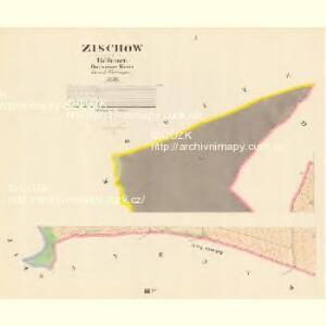 Zischow - c9453-1-001 - Kaiserpflichtexemplar der Landkarten des stabilen Katasters