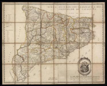 Nueva descripcion geografica del principado de Cataluña