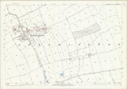 Yorkshire CCXXIII.5 (includes: Spaldington) - 25 Inch Map