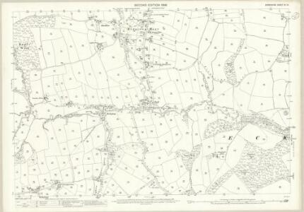 Derbyshire XII.15 (includes: Eckington) - 25 Inch Map