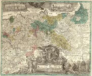 General Carte der gesammten Königlichen Preussischen Länder