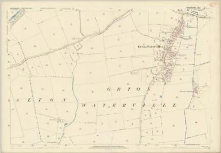 Huntingdonshire V.2 (includes: Alwalton; Orton Longueville; Orton Waterville) - 25 Inch Map