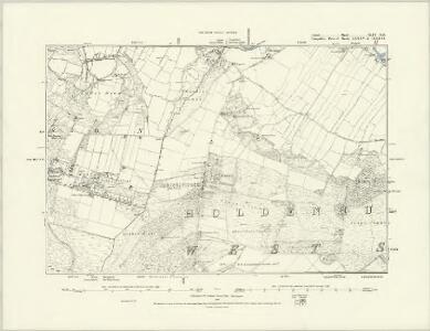 Dorset XLIV.SW - OS Six-Inch Map
