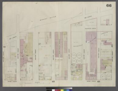 Plate 66: Map bounded by West 19th Street, Tenth Avenue, West 12th Street, Hudson River