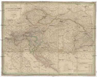 General Karte von dem Oesterreichischen Kaiserstaate