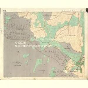 Chodenschloss - c7957-1-007 - Kaiserpflichtexemplar der Landkarten des stabilen Katasters