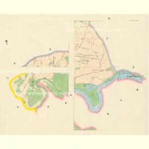 Kestrzan (Kestřan) - c3095-2-005 - Kaiserpflichtexemplar der Landkarten des stabilen Katasters