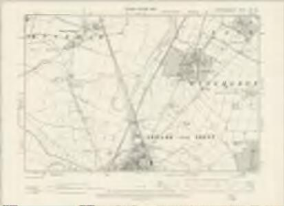 Nottinghamshire XXX.SE - OS Six-Inch Map
