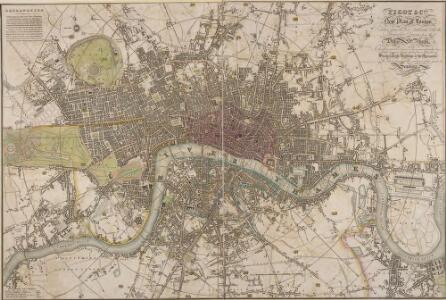 PIGOT & Co New Plan of London Taken from the Best Authorities