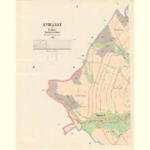Sniežney - c7103-1-001 - Kaiserpflichtexemplar der Landkarten des stabilen Katasters