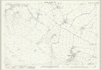 Cornwall LXXXI.5 (includes: Grade Ruan; Mawgan in Meneage; St Keverne; St Martin in Meneage) - 25 Inch Map