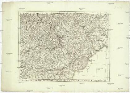 La Moldavie, la Valakie, et la Transilvanie, avec partie de la Bulgarie, de la Hongrie, et de la Pologne