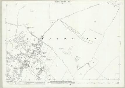 Cambridgeshire LV.10 (includes: Balsham; Hildersham; Linton; Little Abington) - 25 Inch Map