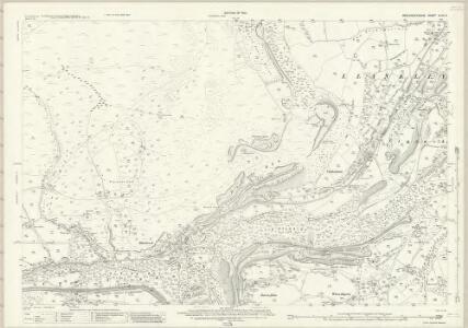 Brecknockshire XLVII.4 (includes: Bryn Mawr; Llanelli; Llangatwg) - 25 Inch Map