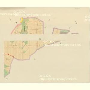 Hartmanitz - c1784-1-006 - Kaiserpflichtexemplar der Landkarten des stabilen Katasters