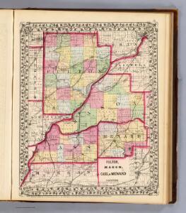 Fulton, Mason, Cass, Menard counties.