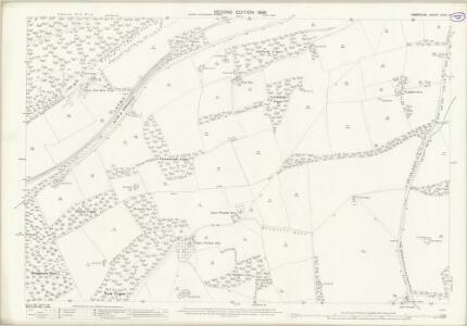 Hampshire and Isle of Wight XXXV.14 (includes: Chawton; Farringdon) - 25 Inch Map