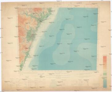 Carte internationale du monde au 1,000,000 E