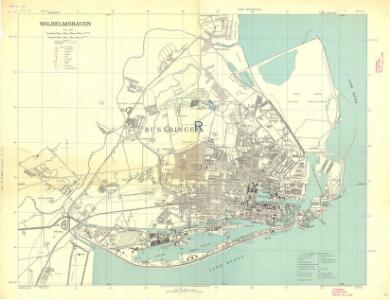 Germany [Town plans of], Wilhelmshaven