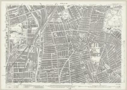 Lancashire CVI.6 (includes: Liverpool) - 25 Inch Map
