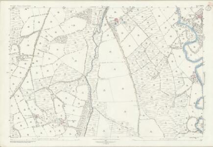 Devon LXIV.8 (includes: Exbourne; Inwardleigh; Jacobstowe; Okehampton Hamlets; Sampford Courtenay) - 25 Inch Map