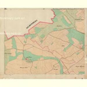 Chudiwa - c2670-1-003 - Kaiserpflichtexemplar der Landkarten des stabilen Katasters