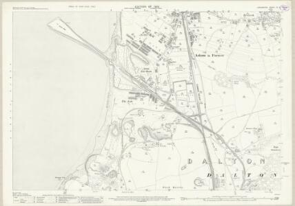 Lancashire XV.8 (includes: Dalton In Furness; Millom) - 25 Inch Map