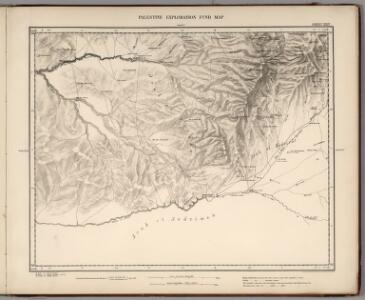 Sheet XXIV.  Palestine Exploration Map.