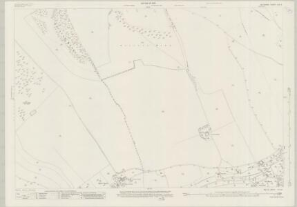Wiltshire LXX.6 (includes: Broad Chalke; Ebbesbourne Wake) - 25 Inch Map
