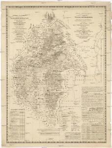 Mappa geographica almae dioecesis Weszprimiensis per inclytos comitatus Weszprim, Simigh et Zala