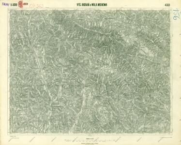 III. vojenské mapování 4368