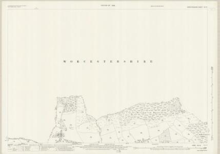 Herefordshire XIII.8 (includes: Bockleton; Hampton Charles; Kyre; Stoke Bliss; Thornbury) - 25 Inch Map