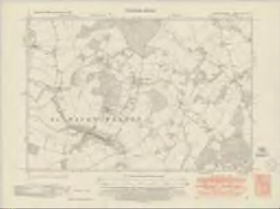 Hertfordshire XX.NW - OS Six-Inch Map