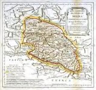 Mapa geográfico del Señorio de Molina